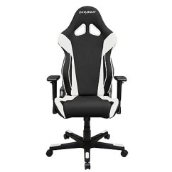 Dxracer Gaming Chairs Leather Of Bath Racing Series Chair Ohrw106nw Ca Staples
