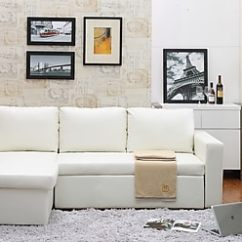 Leather Sectional Sofas Sale Corner Sofa Bed Carabelle 2 Piece Bi Cast With Storage White 9213wt Staples