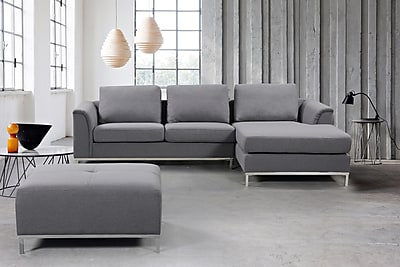 sectional sofa couch zuo modern review beliani oslo corner l 4 seater upholstered velago ollon left grey