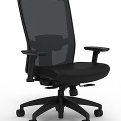 Office Desk Chairs Table And Chair Rentals Sacramento Buy Computer Staples Workplace Series 500 Fabric Task Black Adjustable Lumbar 2d Arms Synchro