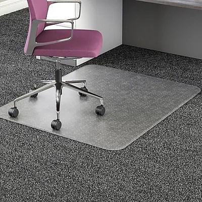 office chair mats carpet staples bedroom for teenage girl deflecto ultramat 45 x46 resin mat rectangular https www 3p com s7 is