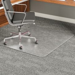 Office Chair Mats Carpet Staples Double Hammock Swing Deflecto Execumat 60 X46 Vinyl Mat For Rectangular Deflect O Top Of The Line Chairmats With Padding 46x60 Rectangle Shape