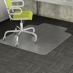Office Chair Mats Carpet Staples Revolving Buy Online Deflecto 48 X36 Vinyl Mat For Rectangular W Lip Https Www 3p Com S7 Is