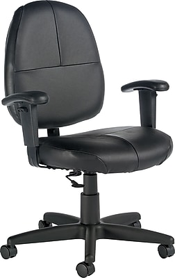 office chair with adjustable arms patio hanging egg global leather managers black 8993bk https www staples 3p com s7 is