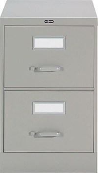 Staples Vertical Legal File Cabinet, 2-Drawer, Grey ...