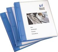 Avery Flexible .5-Inch Round 3-Ring View Binder, Blue ...