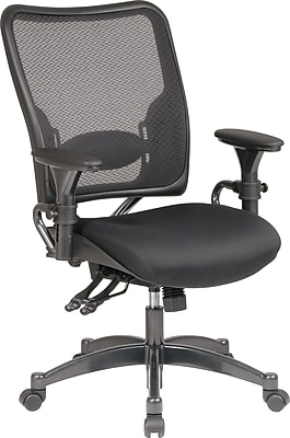 ergonomic chair description beach chairs on sale at walmart office star space mesh conference adjustable arms black 6806 staples