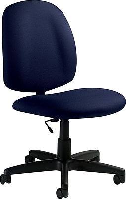 office chair without arms wheelchair wheels global fabric computer and desk armless blue 9326bk navy https www staples 3p com s7 is