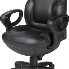 Leather Executive Office Chair Club Chairs And Table Global Concorde Adjustable Arms Black 2425 18bk D534 Staples