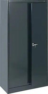 Tennsco Standard Storage Cabinets, Black | Staples