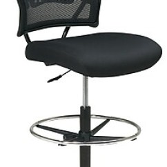Drafting Chairs Staples Childrens Bedroom Chair Uk Office Star Space Seating Ergonomic Airgrid Mesh Stool, Armless, Black | Staples®