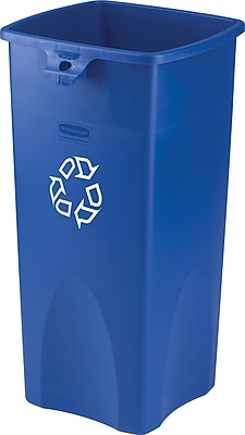 Rubbermaid Desk High Recycling Container 23 gal  Staples