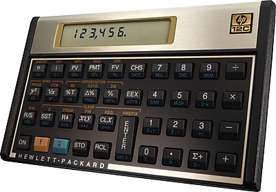 HP 12c Programmable Financial Calculator | Staples®