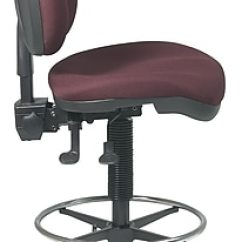Drafting Chairs Staples Chinese Chippendale Uk Office Star Deluxe Ergonomic Chair Burgundy Https Www 3p Com S7 Is