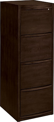 Staples Deluxe Vertical Wood File Cabinet, 4-Drawer ...