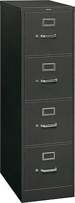 "HON 310 Series Vertical File Cabinet, 26 1/2"" 4-Drawer ..."