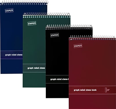 staples graph paper notebooks