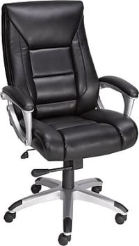 Staples Karston Bonded Leather Mid-Back Managers Chair ...