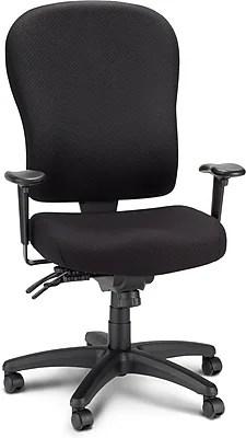 tempur pedic office chair tp4000 reviews covers wedding wakefield tempur-pedic ergonomic fabric mid-back chair, black (tp4000) | staples®