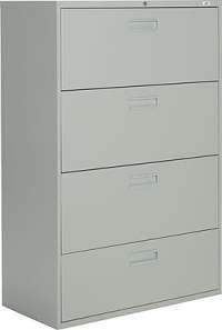 Staples Lateral File Cabinets, 4