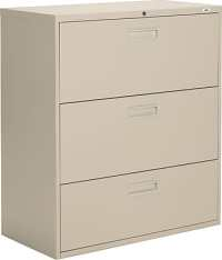 Staples Lateral File Cabinets, 3