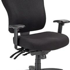 Tempur Pedic Office Chair Tp4000 Reviews Restaurant Repair Tempur-pedic Fabric Computer And Desk Chair, Black, Fixed Arm (tp4000) | Staples