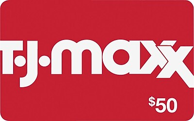 Tj Maxx Gift Card 50 Staples