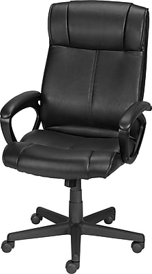 staples computer chairs for babies room office buy desk turcotte luxura high back chair black
