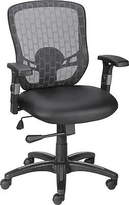 Staples Corvair Luxura Mesh Back Task Chair Black  Staples