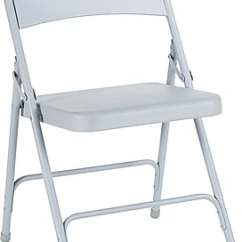 Public Seating Chairs For Bad Lower Back National Premium Lightweight Folding Plastic Gray