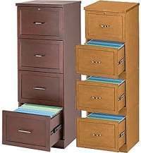 Staples Vertical Wood Legal File Cabinets, 4-Drawer ...
