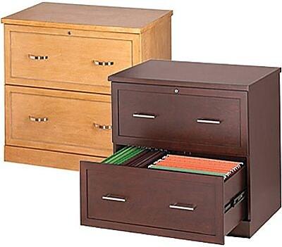 staples classeurs lateraux en bois 2 tiroirs