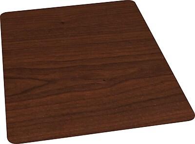 Staples Wood Veneer Style Chair Mat for Hard Floors