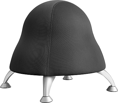 ergonomic chair ball canvas swing new zealand buy safco 4755bl licorice from staples fabric armless black https www 3p com s7 is