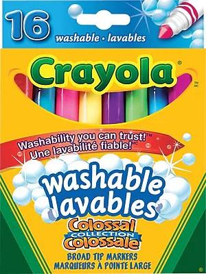 Crayola Marqueurs Lavables De La Collection Colossal