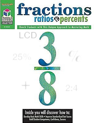 Student edition fractions ratios and percents book grades 5th 8th