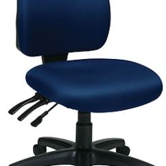 Ergonomic Chair Without Arms Cheap Covers For Banquet Chairs Office Star Worksmart Freeflex Fabric Mid Back Task Staples