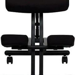 Ergonomic Chair Kneeling Review Akracing Gaming Flash Furniture Kneeler Fabric Office Armless Black Wl1420 Staples