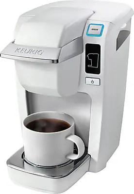 Keurig 174 mini plus k10 mini plus coffee brewer white