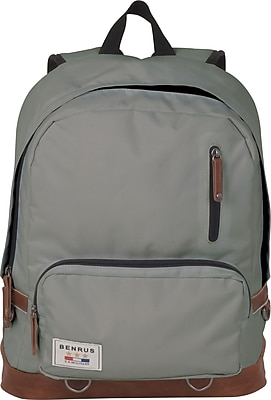 Benrus American Heritage Infantry Backpack Gray  Staples