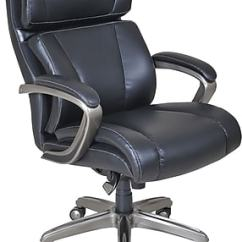 La Z Boy Trafford Big Tall Executive Bonded Leather Office Chair Bistro Table And Set Images - Usseek.com