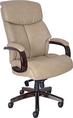 la z boy big man chair copa beach with canopy tall elbridge executive high back center pivot ivory staples