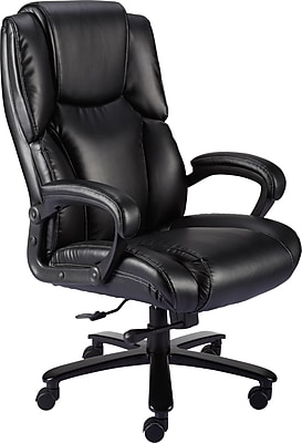 Staples Glenvar Bonded Leather Big and Tall Chair  Staples