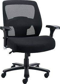 Staples Driscott Mesh Big and Tall Chair, Black   Staples