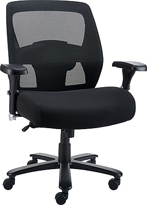 big and tall office chairs bubble chair on stand oversized leather staples driscott mesh black