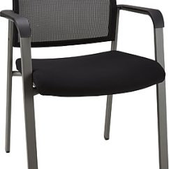 Waiting Chairs Semco White Rocking Chair Reception Room Staples Esler Mesh Guest Black