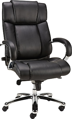 revolving chair best price gaming 2018 chairs seating staples sonada bonded leather managers fixed arm black