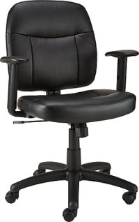 Staples Timbell Bonded Leather Task Chair   Staples