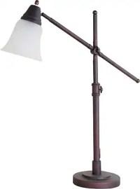 Reddish CFL Desk Lamp | Staples