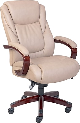 la z boy black leather executive office chair uk evacuation chairs model 300h mk4 staples miramar fixed arms taupe